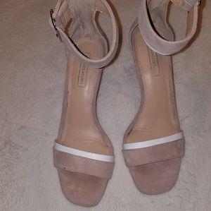 Antonio melani Nude strap heels size 8.5